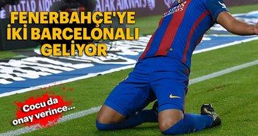 Fenerbahçe'ye iki Barcelonalı geliyor