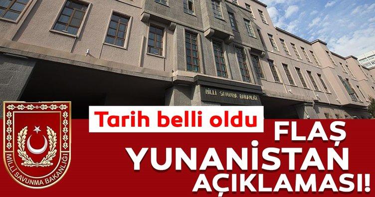 Son Dakika: Türkiye ve Yunanistan Savunma Bakanlıkları heyetleri arasında ikinci görüşmenin tarihi belli oldu!
