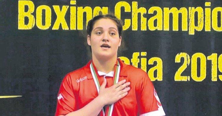 Büşra Avrupa şampiyonu