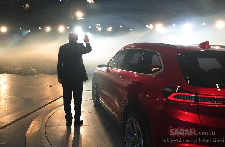 Başkan Erdoğan'ın da katıldığı yerli otomobil tanıtımında tarihi kareler!