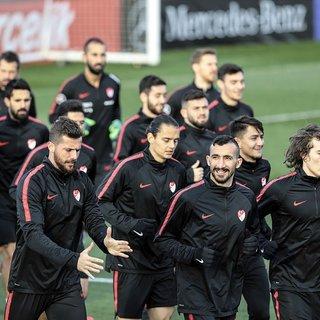 Türkiye A Milli Futbol Takımı'nda hazırlıklar sürüyor