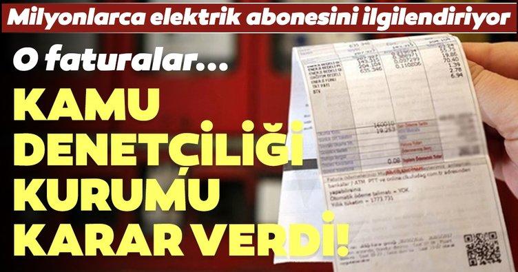 KDK'den 5 bin liralık elektrik faturası için usulü uygun değil kararı