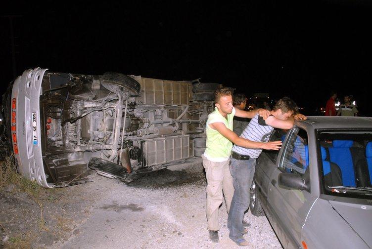 Çanakkale'de trafik kazası
