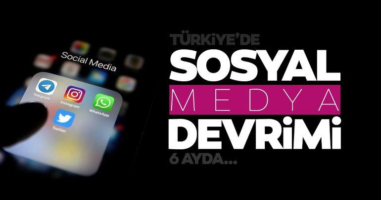 Son dakika haberler: Türkiye'de yeni kanunla beraber sosyal medya devrimi! Sadece 6 ayda...