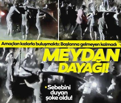 Kızlarla buluşmak için Bursa'dan Aydın'a gittiler: Bu yüzden dayak yediler!