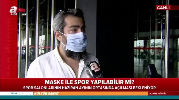 Maske ile spor yapılabilir mi?