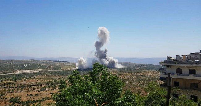 İdlib'de patlama