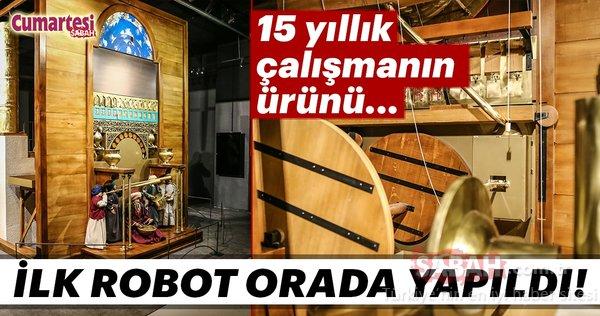 İlk robot Anadolu'da yapıldı