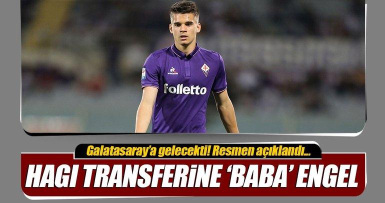 Ianis Hagi & Galatasaray transferine 'baba' engel!