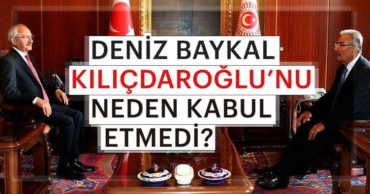 Deniz Baykal Kılıçdaroğlu'nu neden kabul etmedi
