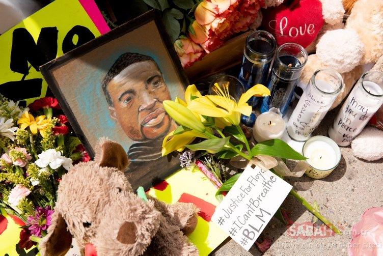 ABD'de siyahi George Floyd'un ölümünün ardından protestolar büyüyor