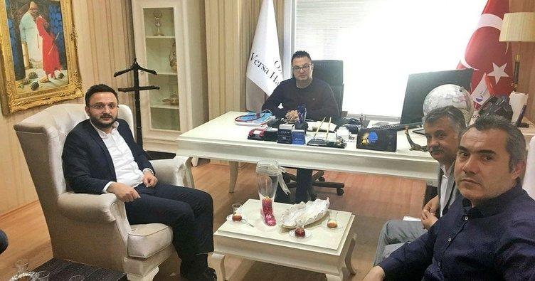 AK Parti İl Başkanı Yanar, Tabipler Oda Başkanı Ergün'ü ziyaret etti