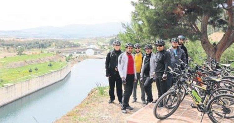 Kahramanmaraş'ı 'Bisikletle Keşfet'