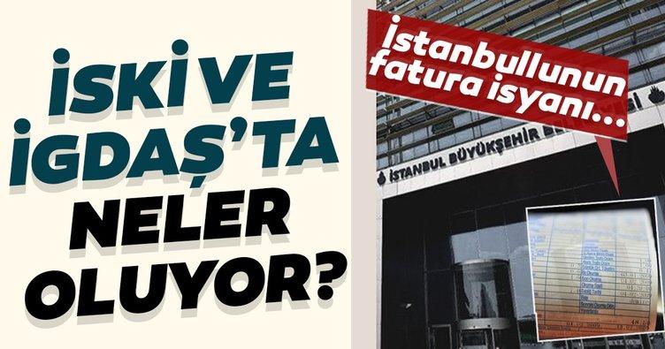 İstanbulluların İGDAŞ ve İSKİ faturalarıyla ilgili çilesi devam ediyor!