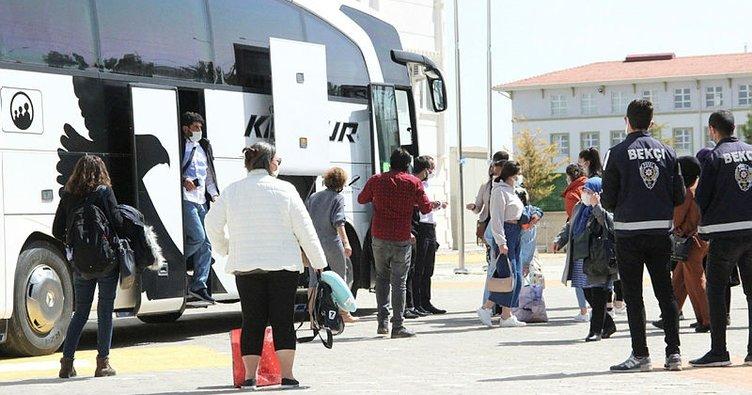 Yolcunun testi pozitif çıktı! Otobüsteki 47 kişi karantinaya alındı!