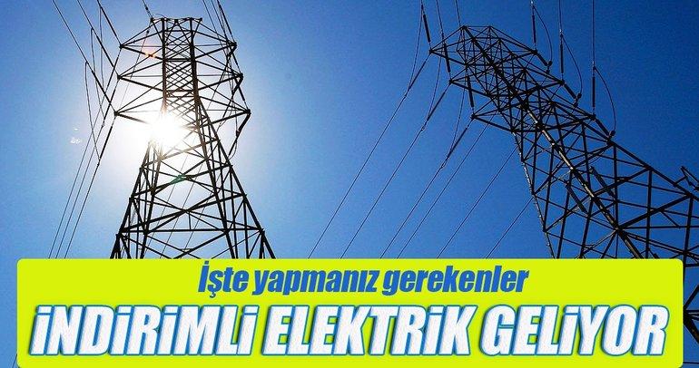 Milyonlarca memura indirimli elektrik