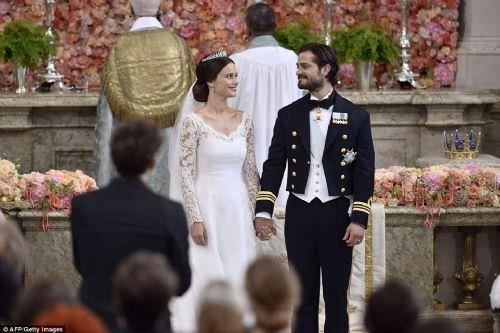 İsveç Prensi dünya evine girdi