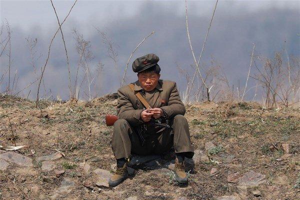 Kuzey Kore sınırındaki hayalet şehir