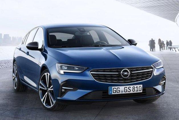 Opel Insignia makyajlandı