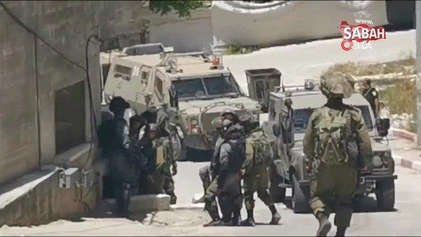 Batı Şeria'da az 10 Filistinliye gözaltı | Video
