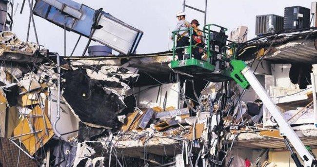 ABD'de çöken binada 159 kayıp