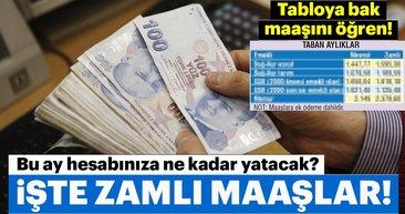 SSK emeklisi 1.818 lira memur emeklisi 2.379 lira bağ-kur emeklisi 1.595 lira... İşte zamlı emekli maaşları