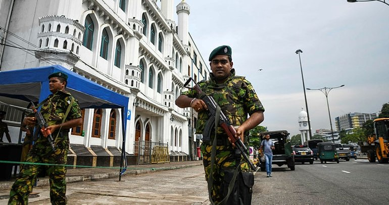 Sri Lanka'daki terör saldırıları