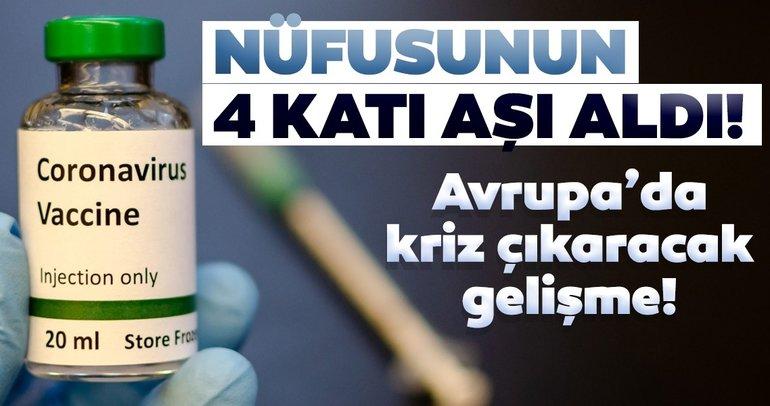 Avrupa'daki aşı krizinde yeni gelişme: Danimarka'nın sipariş miktarı olay yarattı