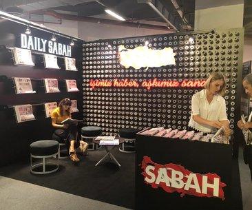 İşimiz haber, aşkımız sanat! Sabah ve Daily Sabah...
