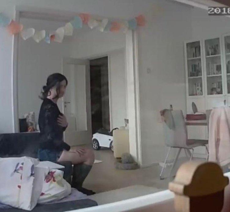 Gizli kamerayı izleyince gözlerine inanamadı! Evdeki 'öteki' kadın kocası çıktı