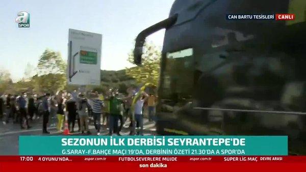 Fenerbahçe stada doğru yola çıktı