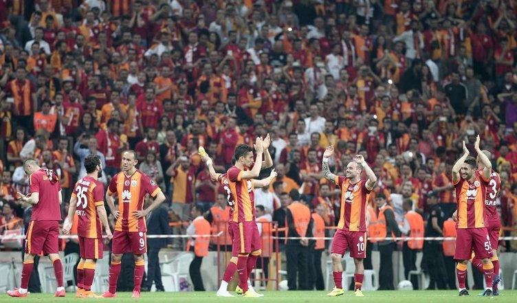 Galatasaray - Gençlerbirliği maçının fotoğrafları