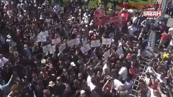 Ankara Emniyeti personele saldıranlar hakkında suç duyurusunda bulundu | Video