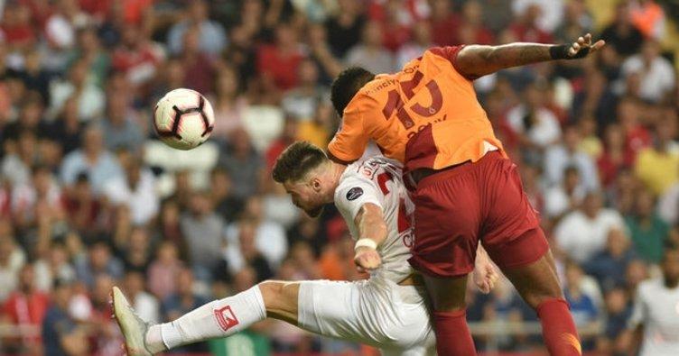 Galatasaray'ın konuğu Antalyaspor!