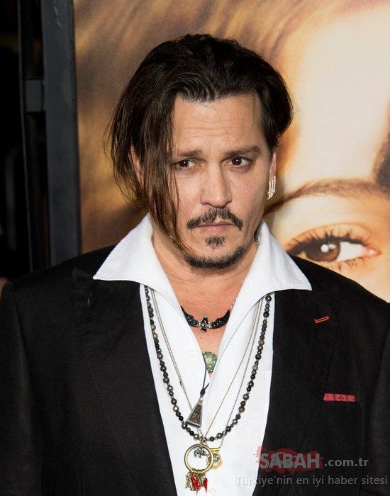 Ünlü oyuncu Johnny Depp Instagram'da rekor kırdı! Karayip Korsanları'nın yıldızı sosyal medyayı altüst etti
