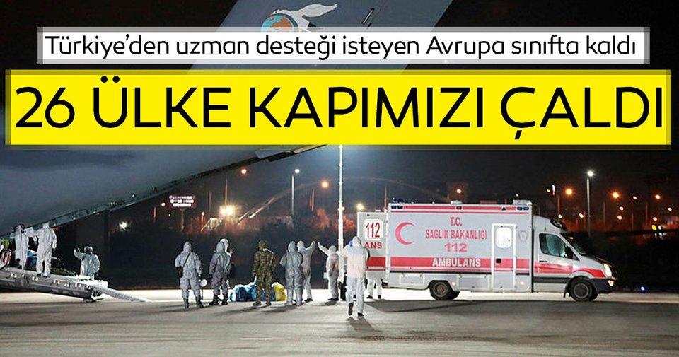 Son dakika: Corona virüsde Türkiye dünyaya örnek oldu! 26 ülke ...