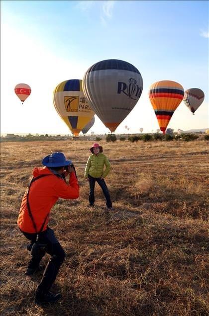 Kapadokya'da balon turu atmaya ne dersiniz?