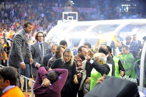 Galatasaray  Cafe Crown - Fenerbahçe Ülker maçı