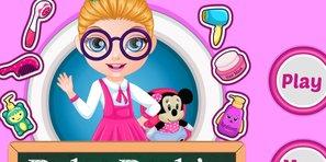 Barbie Sac Okulu Oyunu Barbie Oyunlari Sabah Oyun