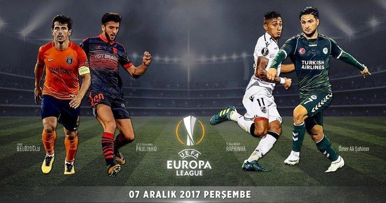 Başakşehir ve Konyaspor Avrupa sınavında