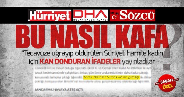 DHA, Hürriyet ve Sözcü'den Sakarya'daki vahşete skandal haber!