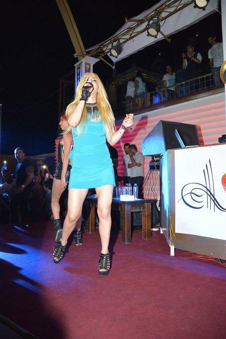 Hande Yener'i rezil eden görüntü