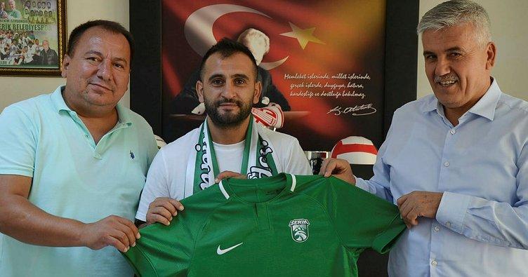 Erman Kılıç Serik Belediyespor'da