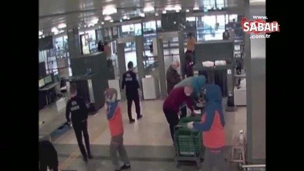 Cezaevinden izinli çıkan 'Uyuşturucu Baronu' sahte kimlikle kaçmak isterken havalimanında yakalandı | Video