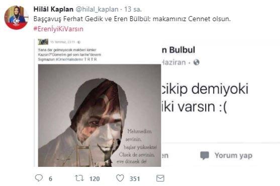 Türkiye 15 yaşındaki Trabzonlu kahraman için ayakta!