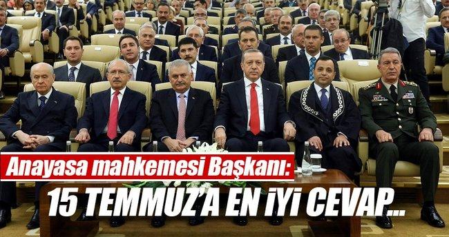 Zühtü Arslan: 15 Temmuz'a cevap yeni bir anayasa