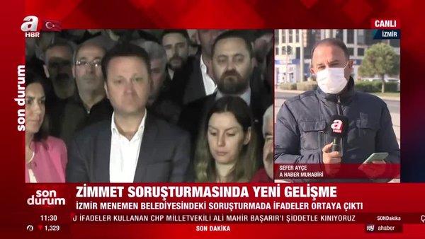 CHP'li Menemen Belediyesi'ndeki vurgunda detaylar belli oldu! İşte verilen ifadeler | Video