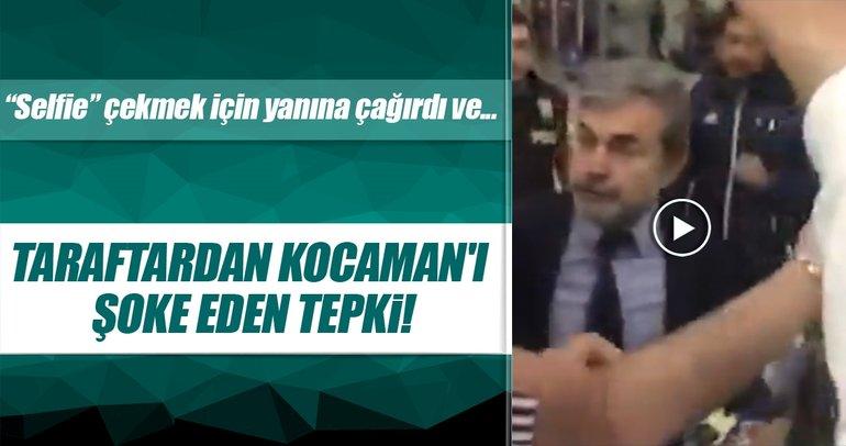 Fenerbahçe taraftarından Aykut Kocaman'ı şoke eden tepki!