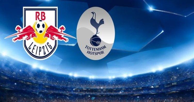 Leipzig Tottenham maçı saat kaçta başlayacak, hangi kanalda yayınlanacak? İlk maçta avantajı kapan Leipzig...