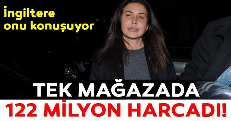 Azeri Zamira Hacıyeva Londra'da bir mağazada 122 milyon lira harcadı